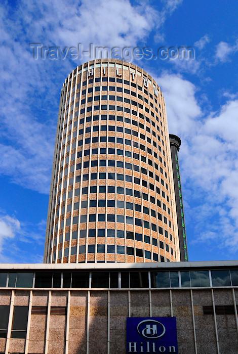 kenya22: Nairobi, Kenya, East Africa: the Hilton hotel - Zevet Architects - Mama Ngina St - photo by M.Torres - (c) Travel-Images.com - Stock Photography agency - Image Bank