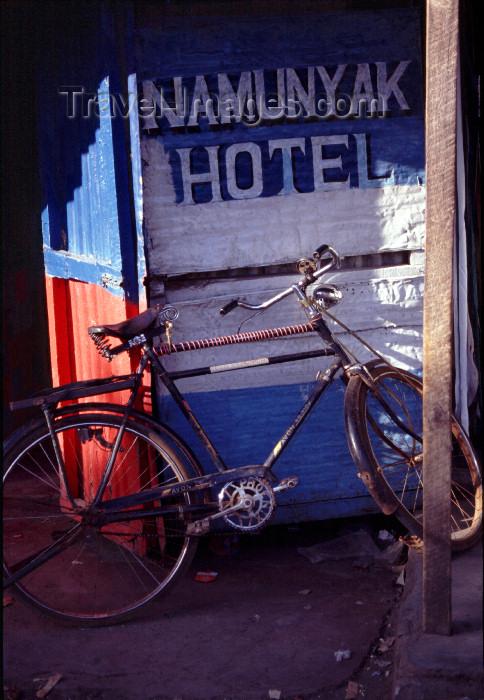 kenya56: East Africa - Sultan Hamud - Namunyak hotel - cheap accommodation - photo by F.Rigaud - (c) Travel-Images.com - Stock Photography agency - Image Bank