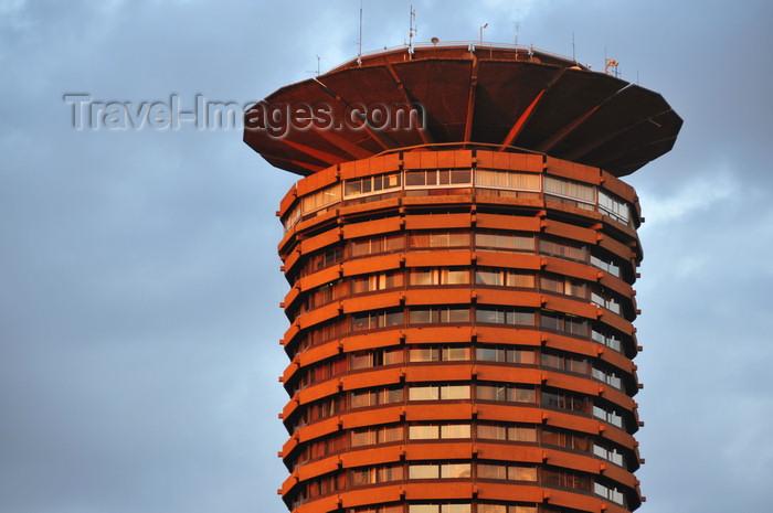 kenya90: Nairobi, Kenya: Kenyatta International Conference Center - tower with helipad - City Square - KICC - Architect Karl H. Nostvik - photo by M.Torres - (c) Travel-Images.com - Stock Photography agency - Image Bank