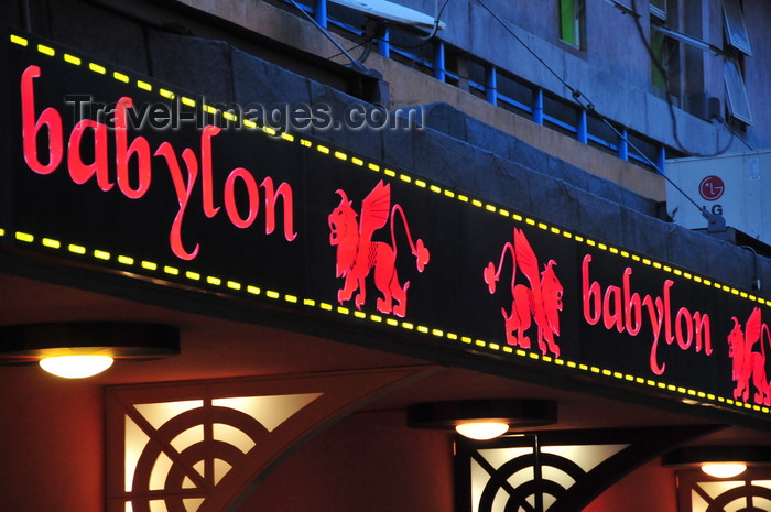 kenya93: Nairobi, Kenya: Babylon casino - photo by M.Torres - (c) Travel-Images.com - Stock Photography agency - Image Bank