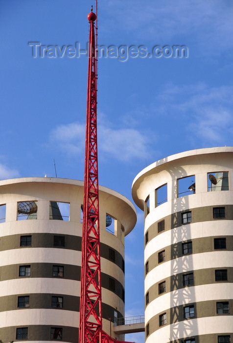 kenya97: Nairobi, Kenya: Nation Centre, Nation Newspaper Headquarters - Kimathi Street - architect Henning Larsens Tegnestue A/S - photo by M.Torres - (c) Travel-Images.com - Stock Photography agency - Image Bank