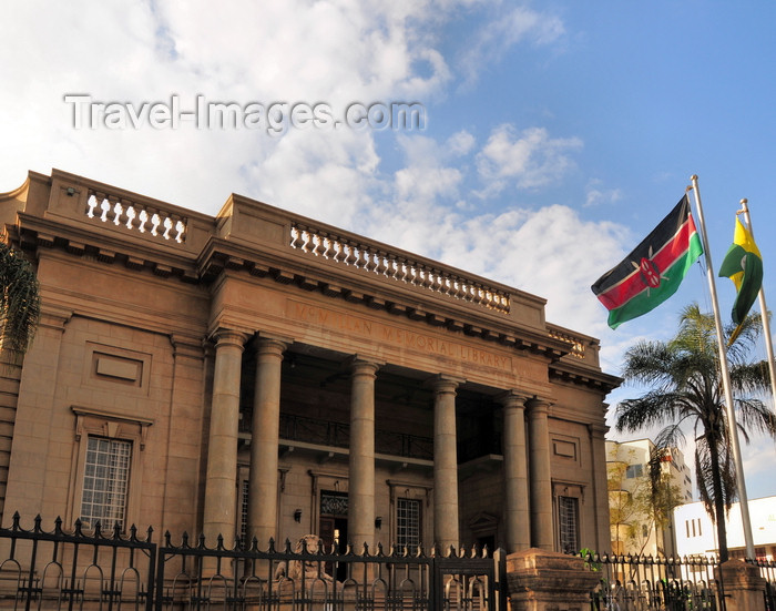 kenya99: Nairobi, Kenya: Nairobi City Library, Sir Northrup McMillan Memorial Library - Banda Street- photo by M.Torres - (c) Travel-Images.com - Stock Photography agency - Image Bank