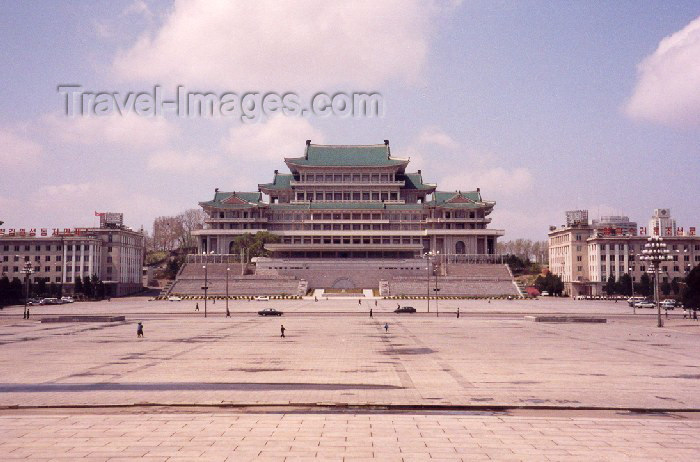 korean43: North Korea / DPRK - Pyongyang: Grand People's Study House - Namsan hill (photo by M.Torres) - (c) Travel-Images.com - Stock Photography agency - Image Bank
