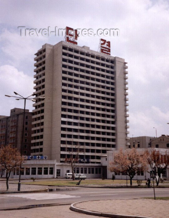 korean6: North Korea / DPRK - Pyongyang: Offices (photo by M.Torres) - (c) Travel-Images.com - Stock Photography agency - Image Bank