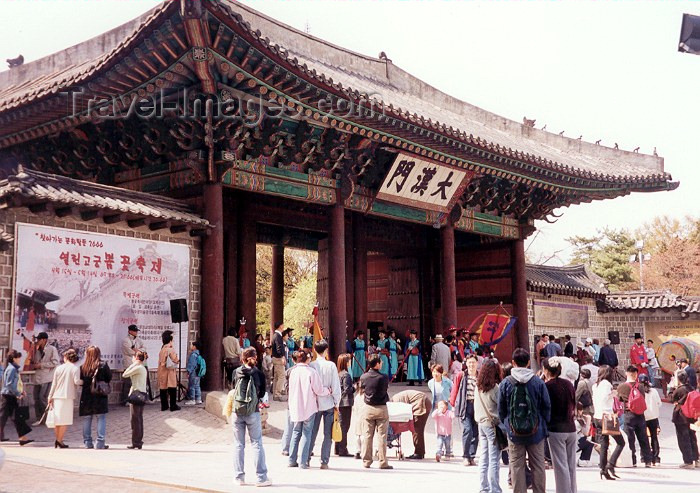 koreas15: Asia - South Korea - Seoul: Toksugung palace - photo by M.Torres - (c) Travel-Images.com - Stock Photography agency - Image Bank