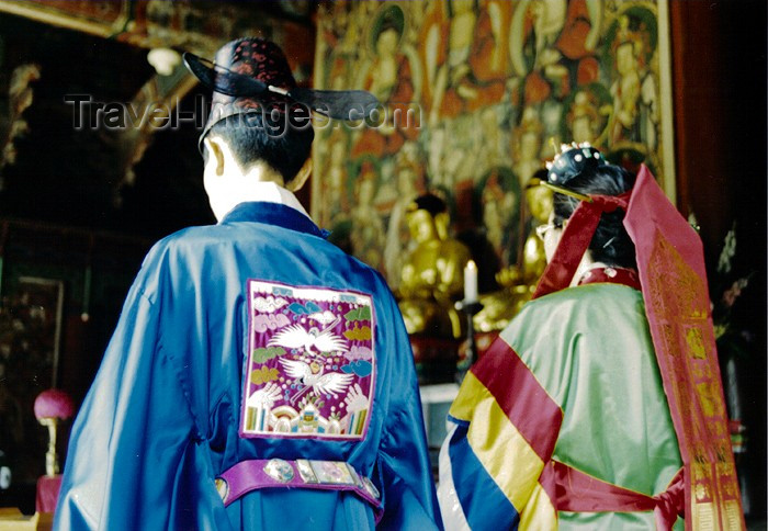 koreas41: Asia - South Korea - Buddhist wedding from behind - photo by S.Lapides - (c) Travel-Images.com - Stock Photography agency - Image Bank