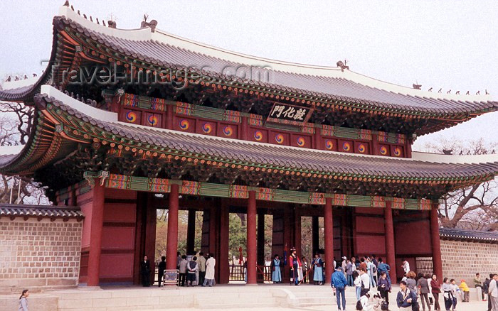 koreas6: Asia - South Korea - Seoul: Changdokkung palace - photo by M.Torres - (c) Travel-Images.com - Stock Photography agency - Image Bank