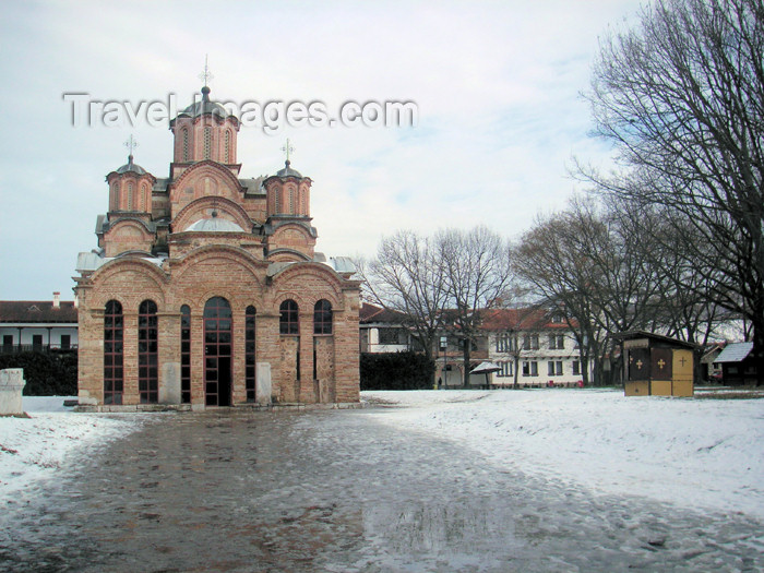 kosovo33: Kosovo - Gracanica: Gracanica Monastery - Serbian Orthodox Diocese of Raska and Prizren - List of World Heritage Sites in danger - photo by A.Kilroy - (c) Travel-Images.com - Stock Photography agency - Image Bank