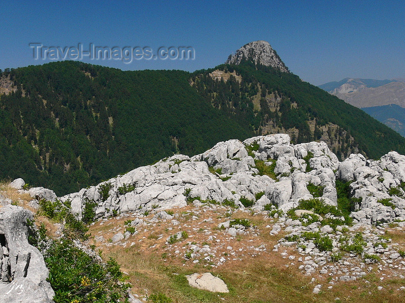 kosovo45: Kosovo - Prokletije mountains / Alpet Shqiptare - Prizren district: peak - Dinaric Alps - photo by J.Kaman - (c) Travel-Images.com - Stock Photography agency - Image Bank
