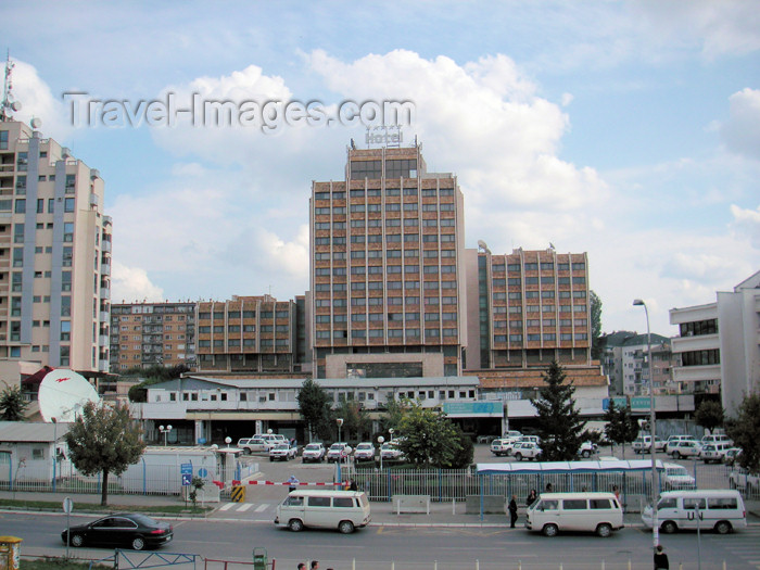 kosovo7: Kosovo - Pristina: Grand Hotel Pristina - Mother Teresa avenue - photo by A.Kilroy - (c) Travel-Images.com - Stock Photography agency - Image Bank