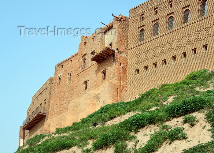 kurdistan16: Erbil / Hewler, Kurdistan, Iraq: Erbil Citadel built on the edge of the plateau - Qelay Hewlêr - UNESCO world heritage site - photo by M.Torres - (c) Travel-Images.com - Stock Photography agency - Image Bank