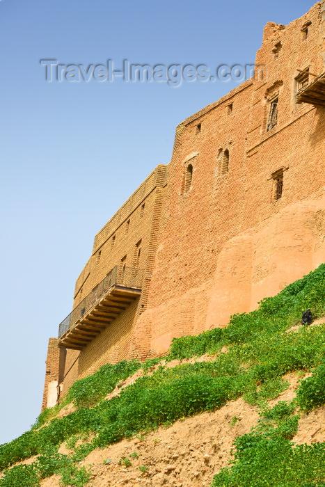 kurdistan17: Erbil / Hewler, Kurdistan, Iraq: old brick buildings of the Erbil Citadel - Qelay Hewlêr - UNESCO world heritage site - photo by M.Torres - (c) Travel-Images.com - Stock Photography agency - Image Bank