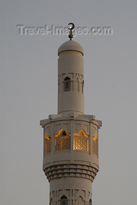 kuwait24: Kuwait city: Al-Qibla area - Minaret on Arabian Gulf Street - photo by M.Torres - (c) Travel-Images.com - Stock Photography agency - the Global Image Bank