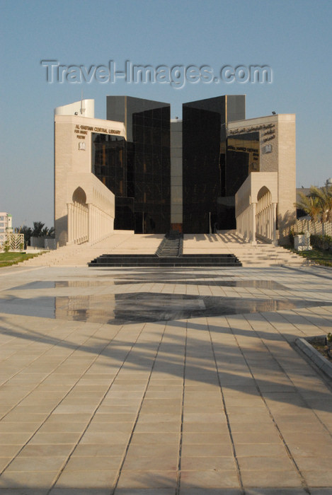 kuwait4: Kuwait city: Al-Babtain Central Library for Arabic Poetry - photo by M.Torres - (c) Travel-Images.com - Stock Photography agency - the Global Image Bank