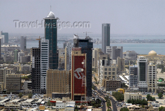 kuwait43: Kuwait city: office buildings - photo by M.Torres - (c) Travel-Images.com - Stock Photography agency - the Global Image Bank