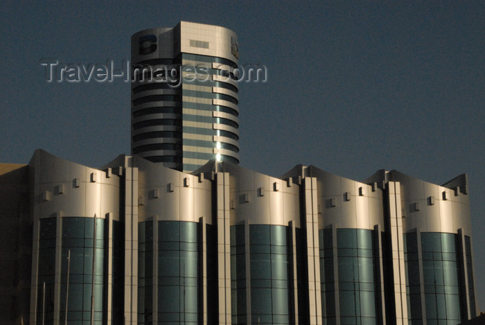 kuwait6: Kuwait city: modern architecture - Burgan Bank tower in the background - photo by M.Torres - (c) Travel-Images.com - Stock Photography agency - the Global Image Bank