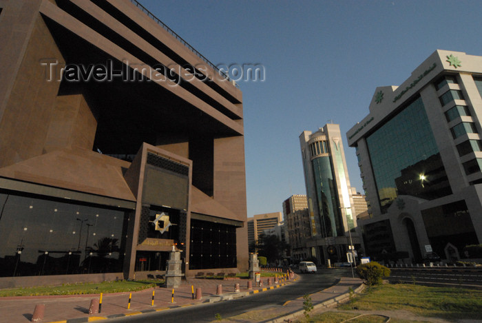 kuwait8: Kuwait city: KSE - Kuwait Stock Exchange - Mubarak street - photo by M.Torres - (c) Travel-Images.com - Stock Photography agency - the Global Image Bank
