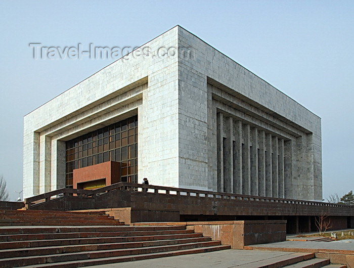 kyrgyzstan31: Bishkek, Kyrgyzstan: Kyrgyz State Historical Museum, former Museum of History of Communist Party - Ala-Too square - photo by M.Torres - (c) Travel-Images.com - Stock Photography agency - Image Bank