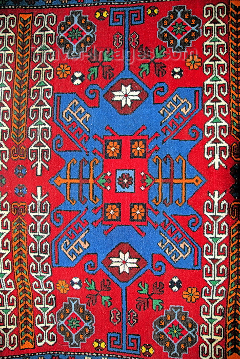 kyrgyzstan53: Bishkek, Kyrgyzstan: Kyrgyz carpet - photo by M.Torres - (c) Travel-Images.com - Stock Photography agency - Image Bank