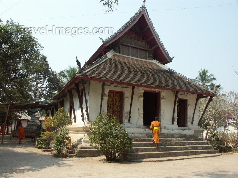 laos30: Laos - Luang Prabang / Luang Probang / Loang Probang: Wat Pakkhan - UNESCO World Heritage Site (photo by P.Artus) - (c) Travel-Images.com - Stock Photography agency - Image Bank