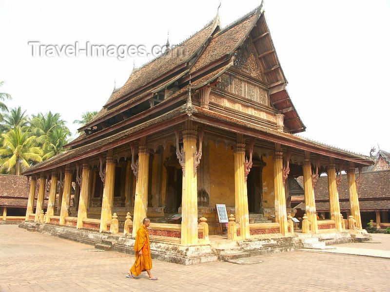laos6: Laos - Indochina - Vientiane: Wat Sisaket - Buddhist temple (photo by P.Artus) - (c) Travel-Images.com - Stock Photography agency - Image Bank