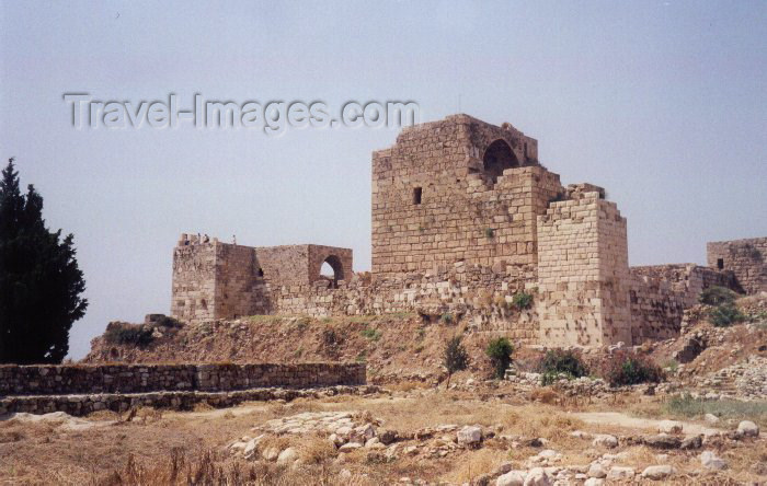 lebanon10: Lebanon / Liban - Jubayl/Byblos: Crusader castle - Unesco world heritage site  (photo by M.Torres) - (c) Travel-Images.com - Stock Photography agency - Image Bank