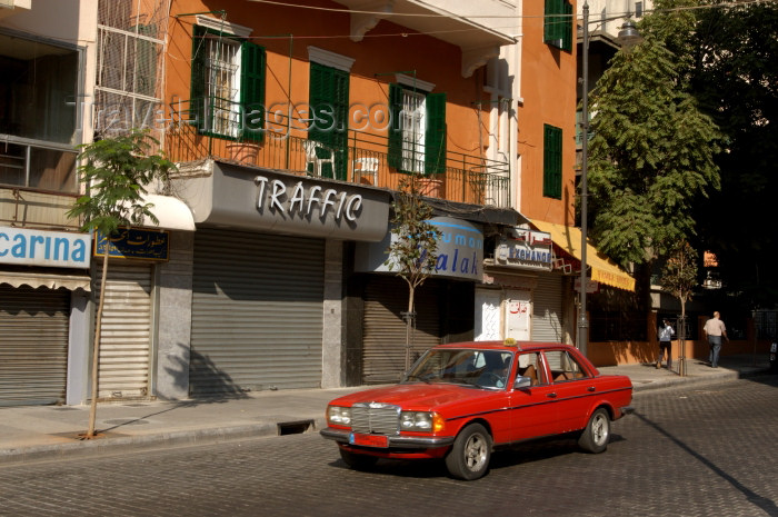 lebanon36: Lebanon / Liban - Beirut: Mercedes 300D - Lebanon's workhorse (photo by J.Wreford) - (c) Travel-Images.com - Stock Photography agency - Image Bank