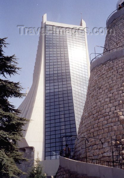 lebanon5: Lebanon / Liban - Harissa: Our Lady of Lebanon Maronite cathedral - architect: Pierre El Khoury (photo by M.Torres) - (c) Travel-Images.com - Stock Photography agency - Image Bank