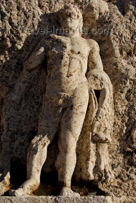 lebanon59: Lebanon, Baalbek: detail of carving - UNESCO World Heritage Site - photo by J.Pemberton - (c) Travel-Images.com - Stock Photography agency - Image Bank