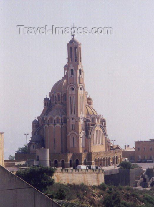 lebanon8: Lebanon / Liban - Jounieh / Juniyah / Jounie / GJN : Byzantine-style St Paul's Basilica - Greek Catholic Church (photo by M.Torres) - (c) Travel-Images.com - Stock Photography agency - Image Bank