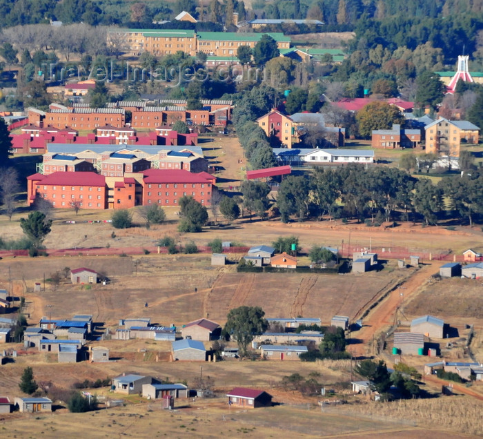 lesotho94: Roma, Lesotho: National University of Lesotho seen from above - photo by M.Torres - (c) Travel-Images.com - Stock Photography agency - Image Bank