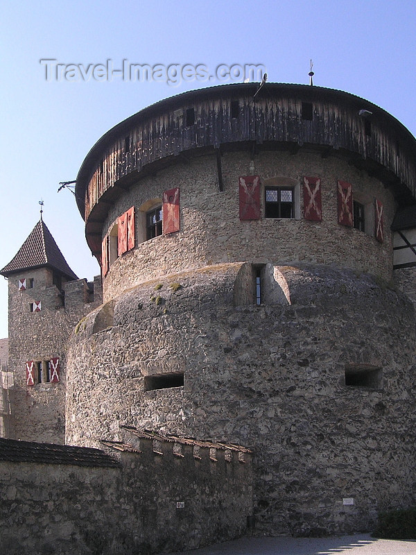 liech57: Liechtenstein - Vaduz: Vaduz Castle - tower - photo by J.Kaman - (c) Travel-Images.com - Stock Photography agency - Image Bank
