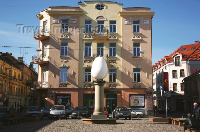 lithuan120: Lithuania - Vilnius: giant Easter egg - photo by A.Dnieprowsky - (c) Travel-Images.com - Stock Photography agency - Image Bank