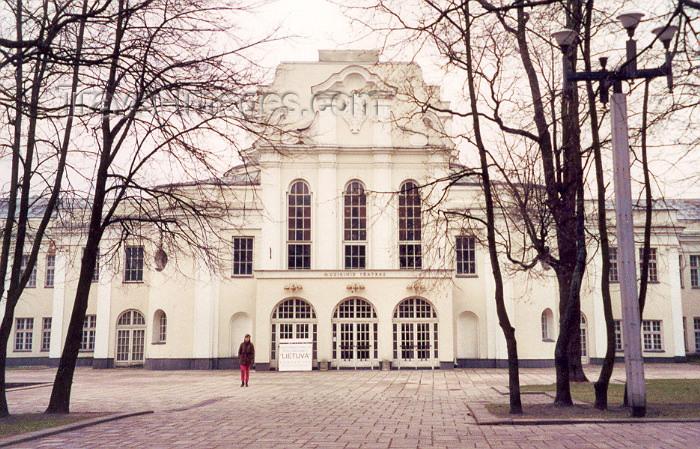 lithuan14: Lithuania - Kaunas: Theatre - Muzikinis Teatras - photo by M.Torres - (c) Travel-Images.com - Stock Photography agency - Image Bank