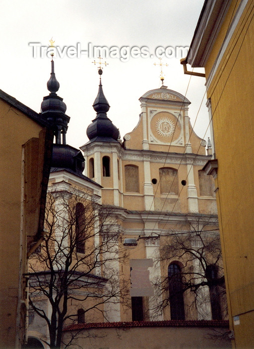 lithuan15: Lithuania - Vilnius: Catholic church of St. Michael / Sv. Mykolo baznycia - photo by M.Torres - (c) Travel-Images.com - Stock Photography agency - Image Bank