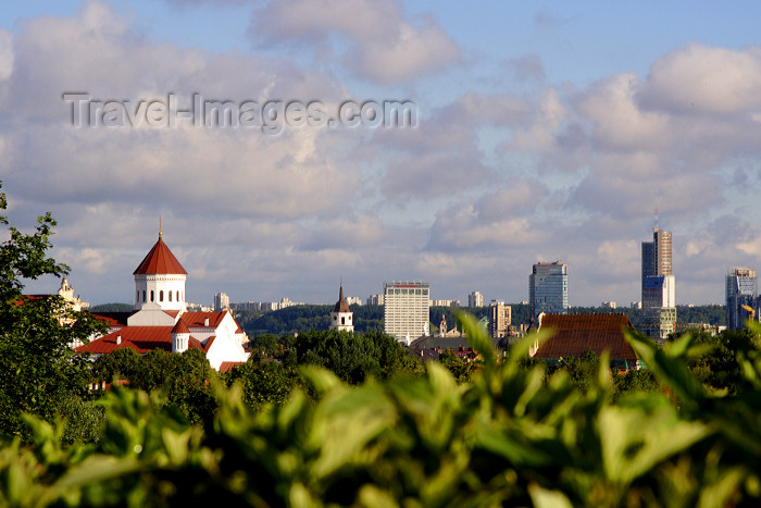 lithuan17: Lithuania - Vilnius: panoramic view of Vilnius - skyline - photo by Sandia - (c) Travel-Images.com - Stock Photography agency - Image Bank