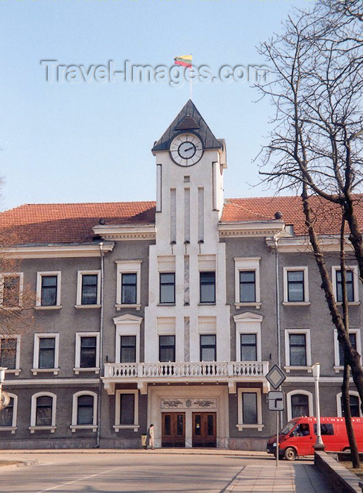 lithuan21: Siauliai, Lithuania: City Hall - Vasario st. - Rotuse - Samogitia region - photo by M.Torres - (c) Travel-Images.com - Stock Photography agency - Image Bank