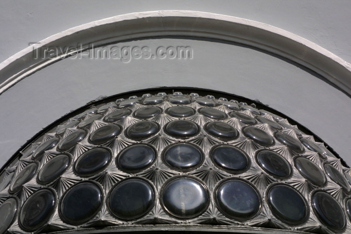lithuan27: Lithuania - Vilnius: bottle architecture on Ausros Vartu street - photo by A.Dnieprowsky - (c) Travel-Images.com - Stock Photography agency - Image Bank