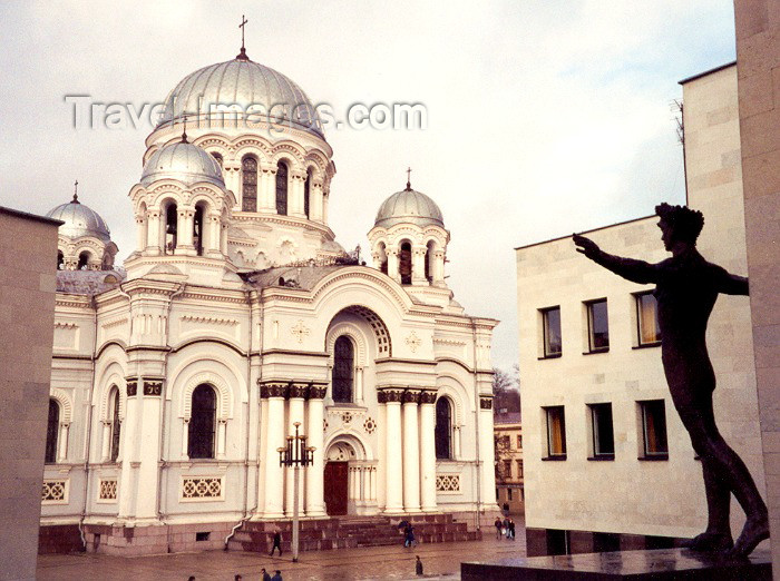 lithuan3: Lithuania - Kaunas: Cathedral of St Michael the Archangel - photo by M.Torres - (c) Travel-Images.com - Stock Photography agency - Image Bank