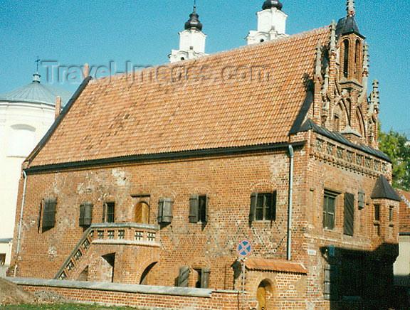 lithuan30: Lithuania - Kaunas / Kowno / Kovno: 15th century German merchant house - photo by G.Frysinger - (c) Travel-Images.com - Stock Photography agency - Image Bank