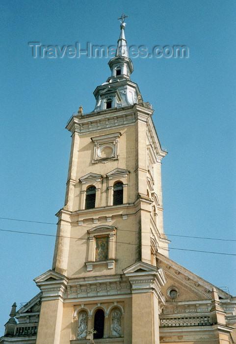 lithuan4: Lithuania - Joniskis: church spire / baznycia - Šiauliai County - photo by M.Torres - (c) Travel-Images.com - Stock Photography agency - Image Bank