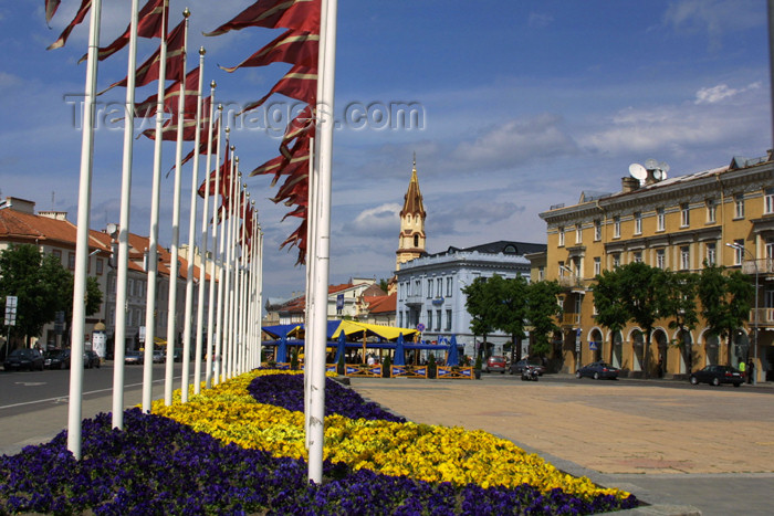 lithuania107: Lithuania - Vilnius: Latvian colors in Lithuania - photo by A.Dnieprowsky - (c) Travel-Images.com - Stock Photography agency - Image Bank