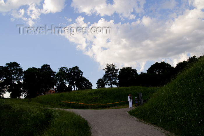 lithuania140: Lithuania - Kernave: lansdcape of Lithuania - photo by Sandia - (c) Travel-Images.com - Stock Photography agency - Image Bank