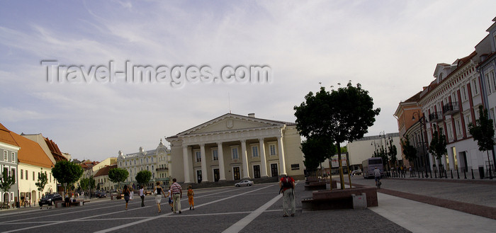 lithuania173: Lithuania - Vilnius: Town hall - photo by Sandia - (c) Travel-Images.com - Stock Photography agency - Image Bank
