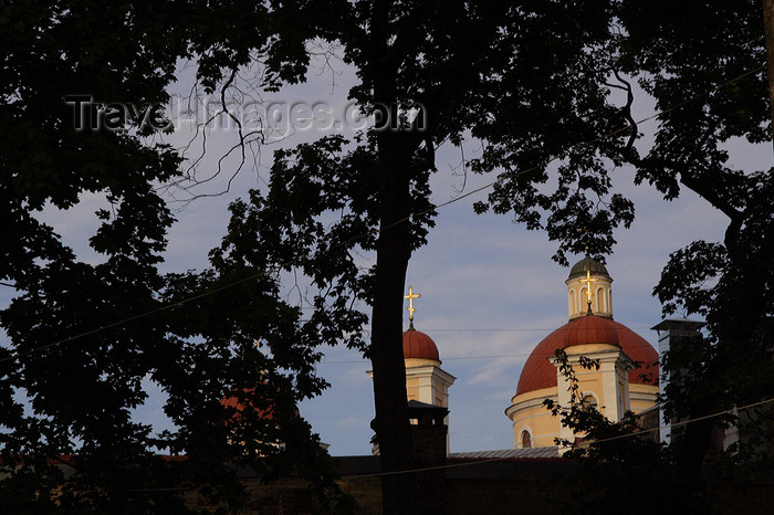 lithuania175: Lithuania - Vilnius: dome of the Russian Orthodox Church of the Holly Spirit - photo by Sandia - (c) Travel-Images.com - Stock Photography agency - Image Bank