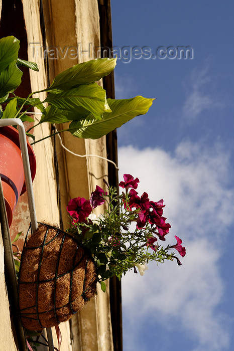 lithuania181: Lithuania - Vilnius: balconies of the old town - photo by Sandia - (c) Travel-Images.com - Stock Photography agency - Image Bank