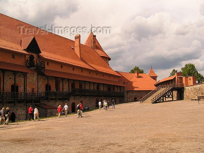 lithuania55: Trakai / Troki - Trakai Historical national park, Lithuania: Trakai Island Castle - built by Grand Duke Kestutis, Prince of Trakai - photo by J.Kaman - (c) Travel-Images.com - Stock Photography agency - Image Bank