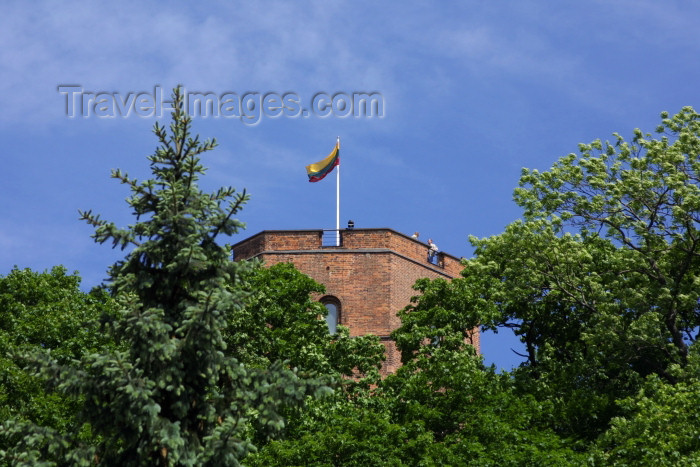 lithuania93: Lithuania - Vilnius: Gediminas' Tower - City park - photo by A.Dnieprowsky - (c) Travel-Images.com - Stock Photography agency - Image Bank
