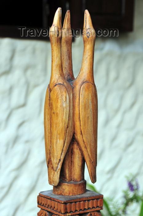 madagascar112: Morondava - Menabe, Toliara province, Madagascar: tree storks - art at the Tre Cigogne guest house - photo by M.Torres - (c) Travel-Images.com - Stock Photography agency - Image Bank