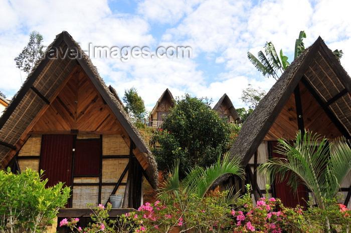 madagascar123: Andasibe, Alaotra-Mangoro, Toamasina Province, Madagascar: bungalows and sky - photo by M.Torres - (c) Travel-Images.com - Stock Photography agency - Image Bank